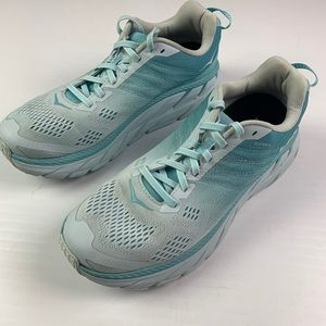 HOKA ONE ONE Clifton 6  Running Shoes Size 9